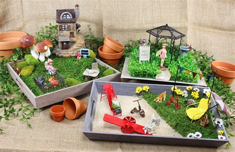 garden supplies fairy garden accessories supplies miniature arbors