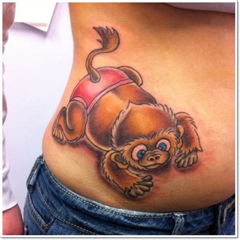 cute monkey tattoos 30 cool and monkey designs