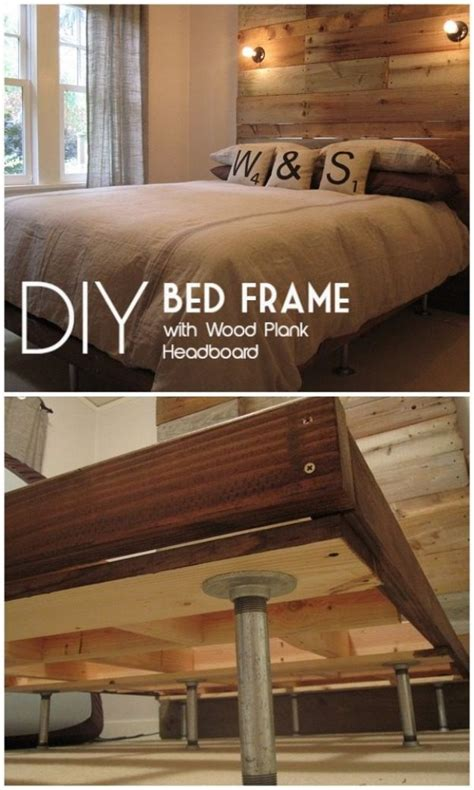 make a bed frame cheap 34 diy bed frames to make your bedroom furniture dreams