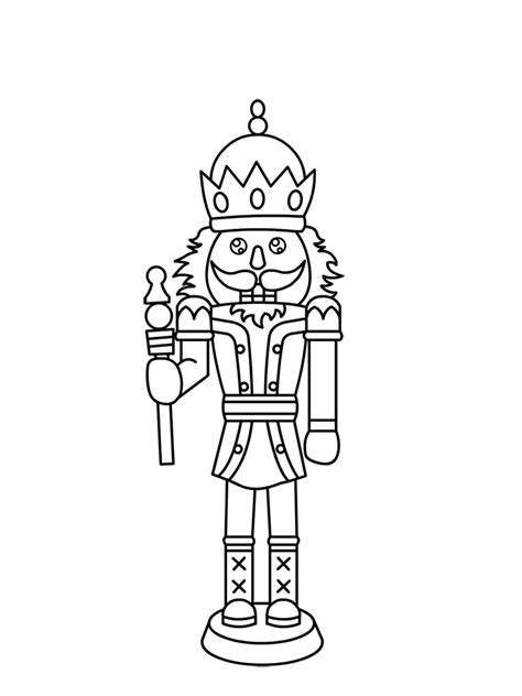 Free Nutcracker Coloring Pages To Print | free printable nutcracker coloring pages for kids
