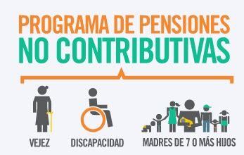 aumento para el 2016 para pensiones no contributivas las pensiones no contributivas cobrar 225 n 15 a partir de