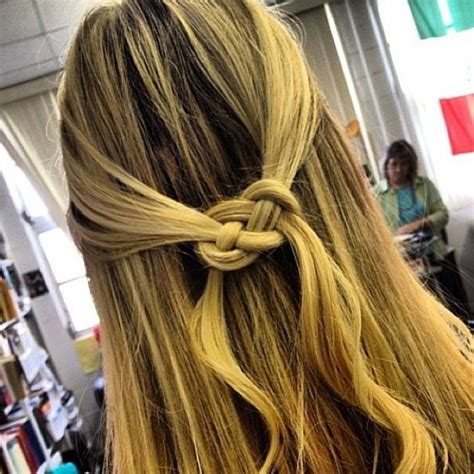 how to do an infinity knot infinity knot hair