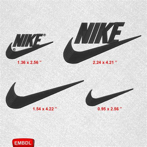 Embroidery Design Nike | nike logo pack embroidery design instant download