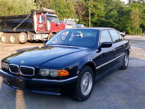 auto air conditioning service 1999 bmw 7 series electronic toll collection sell used 1999 bmw 740 il for parts or fix no reserve in silver spring maryland united states