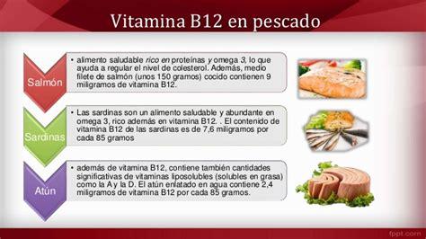 alimentos que contienen vitaminas b12 alimentos ricos en vitamina b12 cianocobalamina