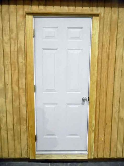 Steel Doors For Shed by Quality Shed Options Steel Entry Door