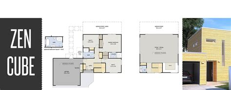 zen cube eco house plans new zealand ltd sophisticated house plans without garage nz gallery