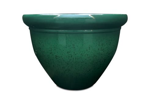 20 Inch Plastic Planters Listo Pizzazz Resin Pottery Planter With Speckle 20 Inch