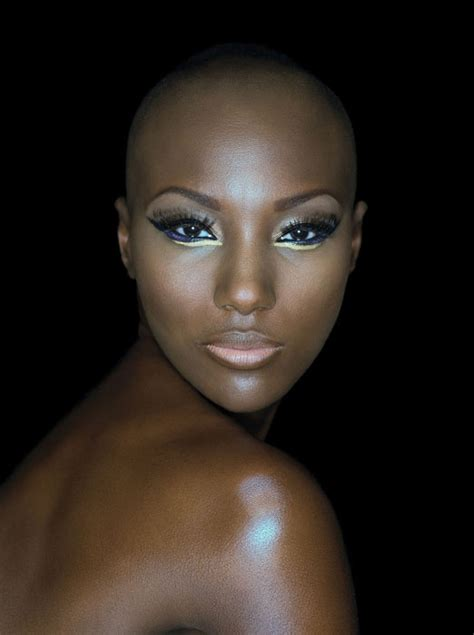 bald covering for black woman 226 best images about black women makeup on pinterest