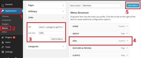 wordpress different layout per category how to add woocommerce product categories to website menu