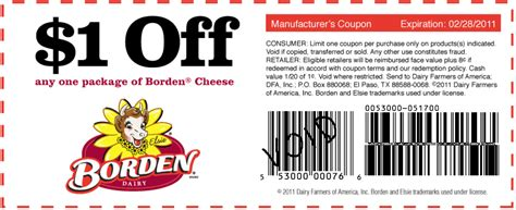 manufacturer grocery coupons mail