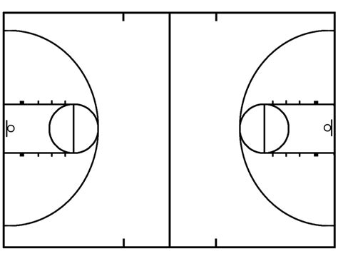 basketball court clipart clipart suggest