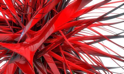 imagenes abstractas rojo fondo de pantalla abstracto pelos rojos en 3d imagenes