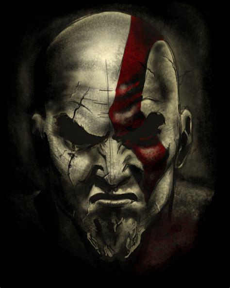 kratos the god of war by victorkl28 on deviantart