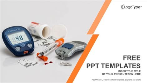 basic tools for diabetics powerpoint templates