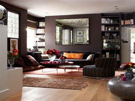 mirrors on walls in living rooms bloombety wall mirrors for living room with bookshelves