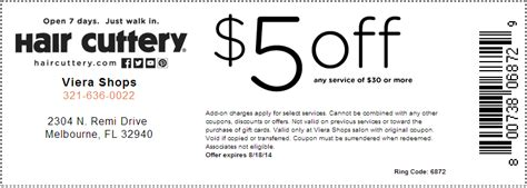 regis salon color coupons hair cuttery coupons 10 all salon prices