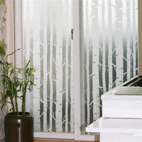 Wall Stickers South Africa tree frosted window film privacy frosting glass 1mx1m ebay