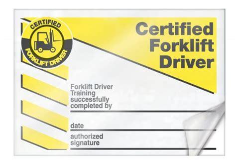 forklift licence template wallet card forklift forklift industrial truck