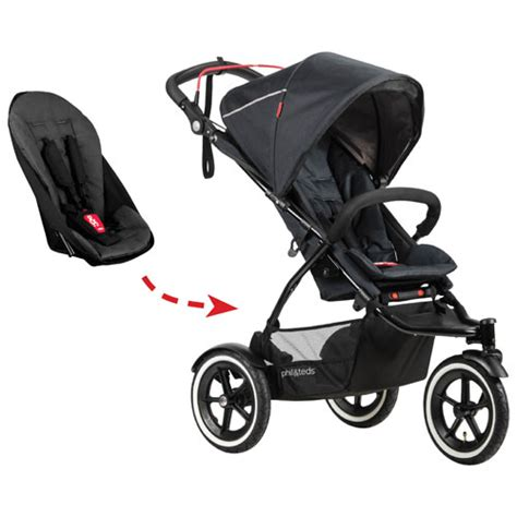 6 seat stroller canada phil teds sport stroller second seat included black