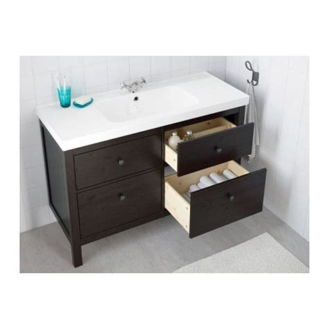 ikea under sink drawer hemnes odensvik sink cabinet with 4 drawers white
