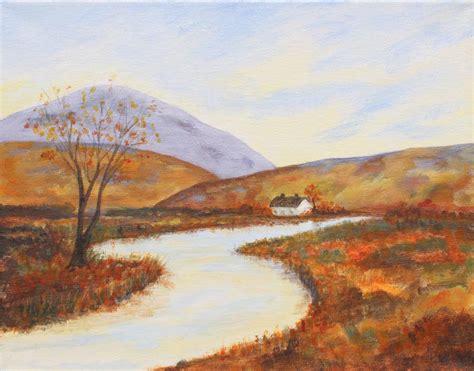 acrylic paint on canvas landscape acrylic landscape painting lapeer association