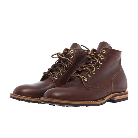 viberg boots viberg service boot in brown chromexcel in brown for