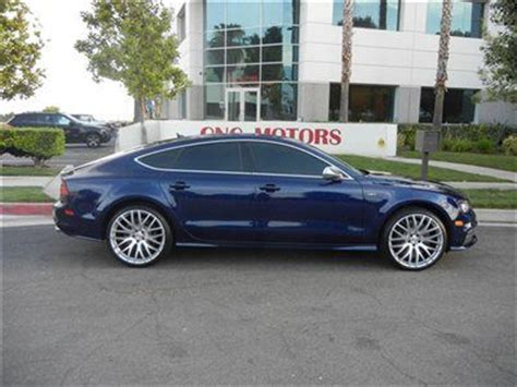 audi s7 sound buy used 2013 audi s7 blue black and olufsen