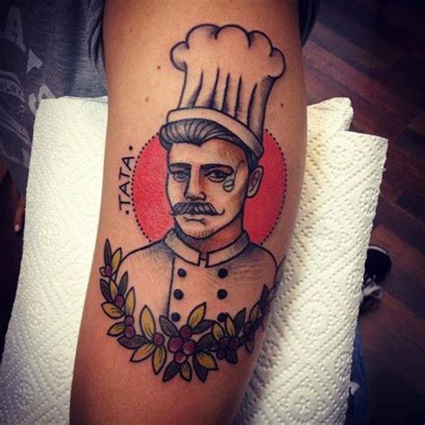 new school chef tattoo cook tattoo awesome tattoos pinterest tattoo chef