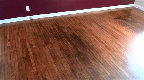 refinishing hardwood floors youtube