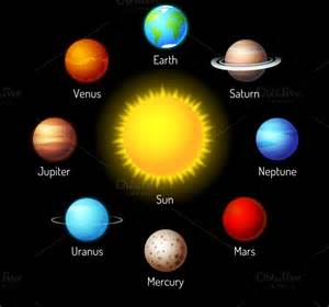 what color are the planets in solar system pics about space