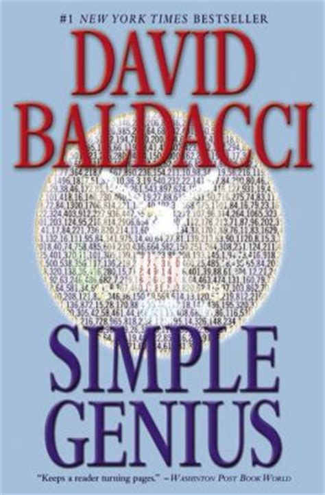 david baldacci simple genius simple genius sean king and michelle maxwell series 3
