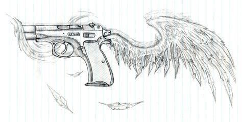 revolver tattoo design gun designs related keywords gun designs