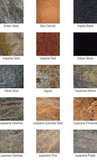 granite color names granite countertop colors az granite countertops