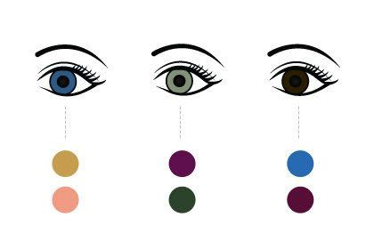 opposite of purple 17 best images about blues eyeshadow brown eyes on