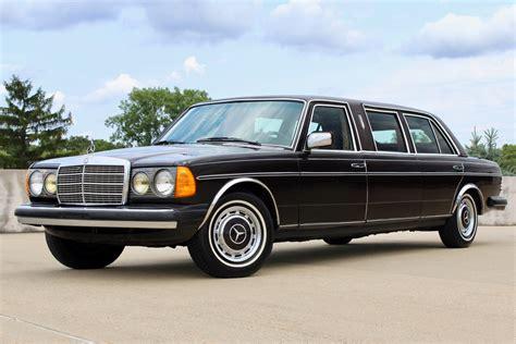 mercedes limo 1981 mercedes 300d limousine for sale on bat auctions