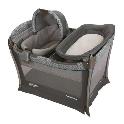 Graco Pack N Play Sleeper by Baby Portable Bassinet Playyard Infant Nursery Folding