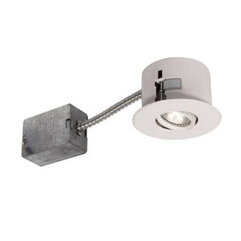 bazz flex 4 series 3 7 8 in white led recessed lighting