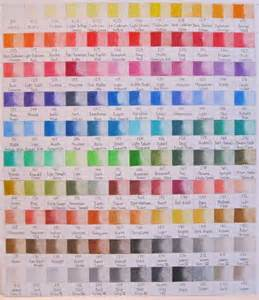 polychromos color chart faber castell polychromo color chart l 225 pices pastel