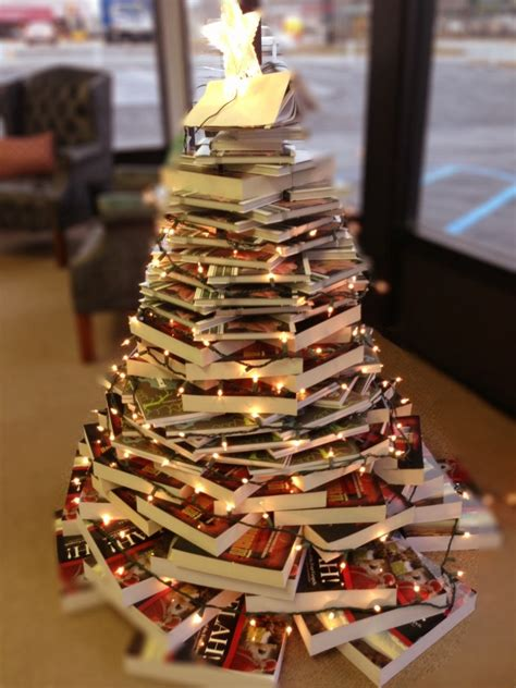 the perfect christmas tree for book lovers ambassador
