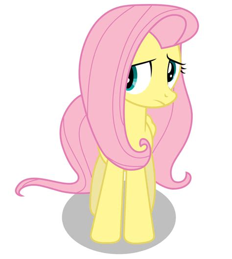 how to a timid fluttershy timid by bronyvectors on deviantart