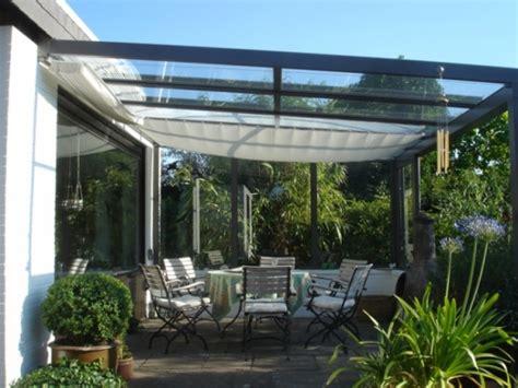 terrasse glasdach glasdach f 252 r die terrasse vorteile einer
