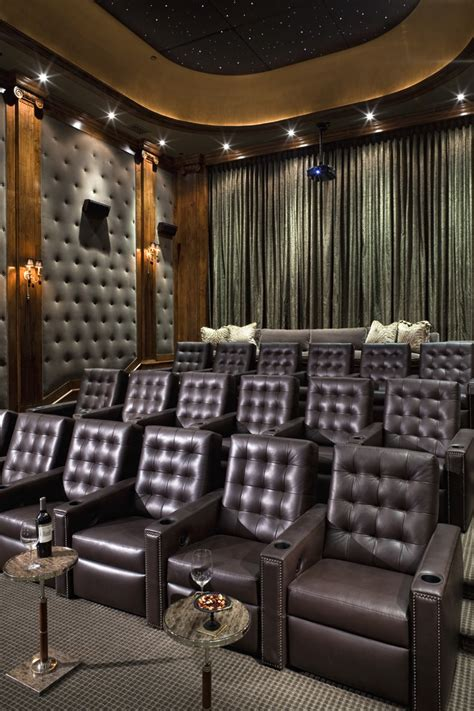 home theatre interiors home theater room decor home theater traditional with