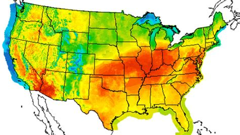 america heat map july could become month recorded cbs news