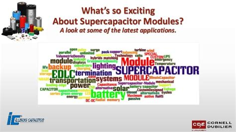 supercapacitors applications supercapacitor module applications for customers