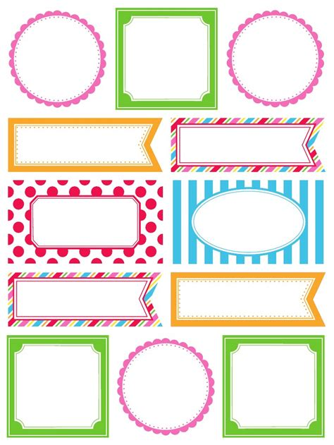 printable gift tag borders srm stickers cha winter 2013 reveal borders labels