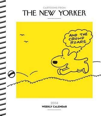 yorker desk diary from the yorker 2014 desk diary conde nast