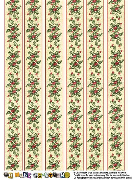printable miniature christmas wrapping paper 261 best xmas backing papers images on pinterest