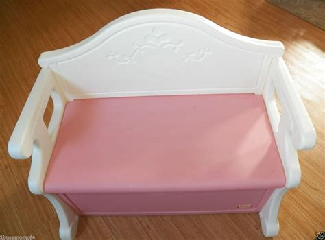 little tikes pink bench toy box little tikes victorian pink storage bench toybox toy box