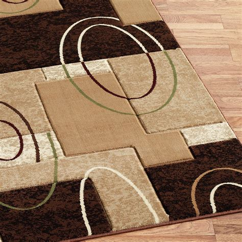 Contemporary Area Rugs Cha Cha Beige Modern Area Rugs